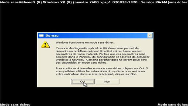 D marrer le service windows installer en mode sans chec for Fenetre windows outils