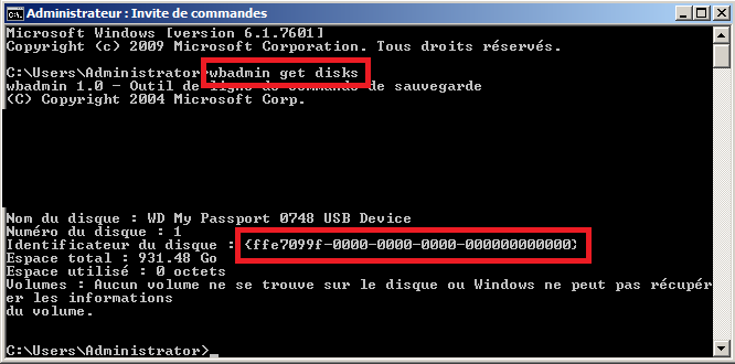 la syntaxe du nom de fichier