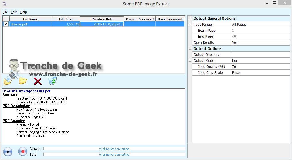 Tu peux également modifier la vitesse de la voix à l'aide du curseur en bas de la fenêtre. 10) Enfin, tu peux faire lire un document PDF à l'aide d'Adobe Reader (télécharges bien sûr la dernière version 7.0.7), il suffit pour cela d'aller dans le menu Affichage puis Lecture audio. Tu peux faire lire la page en cours ou l'ensemble du ...