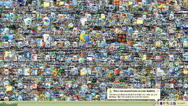 Comment cacher les icones du bureau - Comment mettre des icones sur le bureau ...