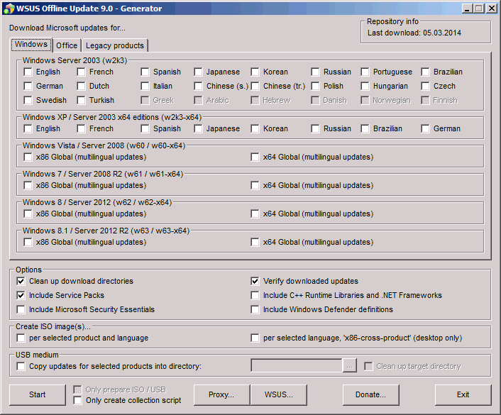 WSUS-Offline- MaJ-Windows-Offline-02
