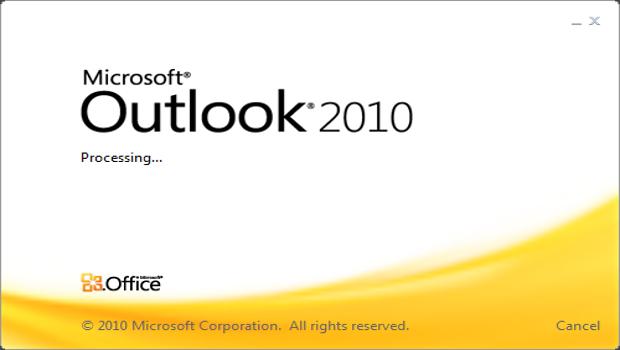 outlook2010-demarrage-logo
